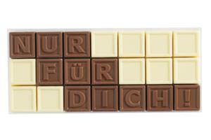 Chocotelegram® 21 AL 'Nur für dich'