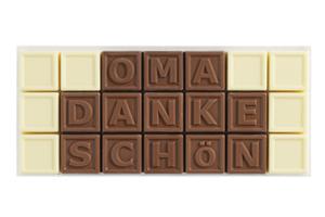 Chocotelegram® 21 AL 'Oma danke schön'