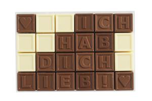 Chocotelegram® 24 'Ich hab dich lieb!'