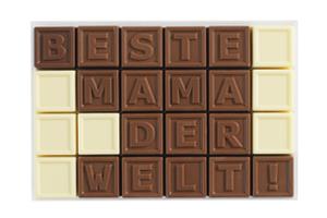 Chocotelegram® 24 'Beste Mama der Welt!'