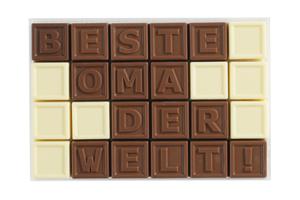 Chocotelegram® 24 'Beste Oma der Welt!'