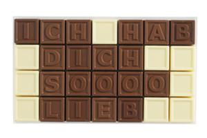 Chocotelegram® 28 'Ich hab dich soooo lieb'
