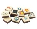 Ihr Logo auf Schokolade im Chocotelegram® integriert
