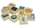 LogoPralinen im Chocotelegram® integriert