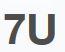 Logo 7U DIGITAL ORIGINALS