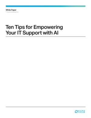 De 10 toepassingen van artificial Intelligence als IT support tool