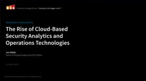 De opkomst van cloud-based security analytics