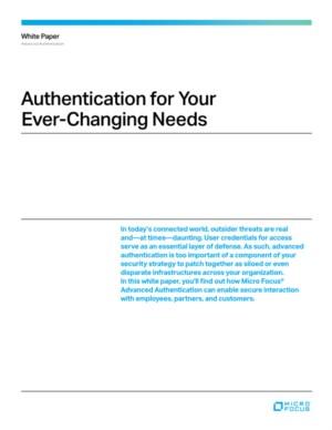 Sterke geavanceerde authenticatie als oplossing tegen cybercrime