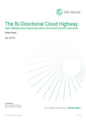 Gebruikersonderzoek naar cloud Security en multi-cloud omgevingen