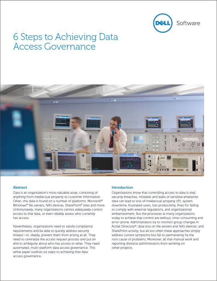 Data access governance: weet u wie toegang heeft tot welke systemen of data?