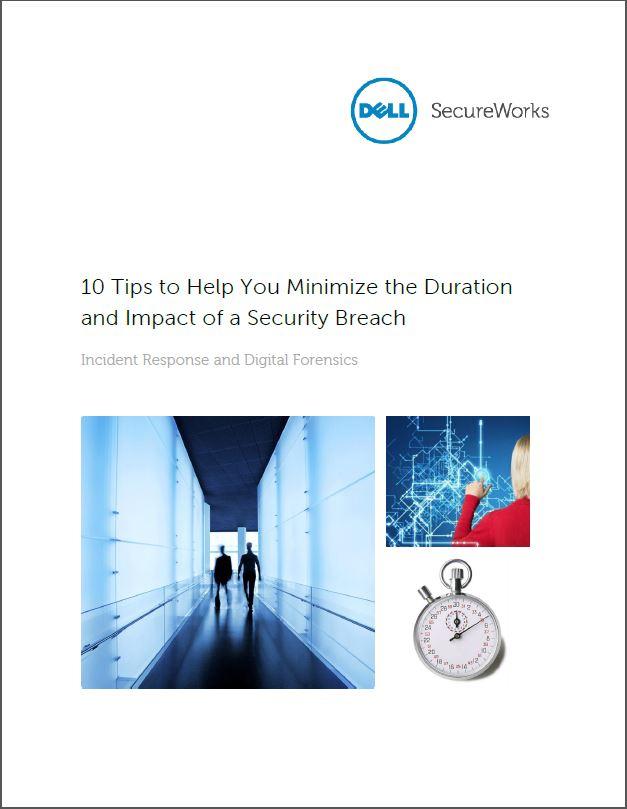 10 Tips om de duur en de impact van een security breach te minimaliseren