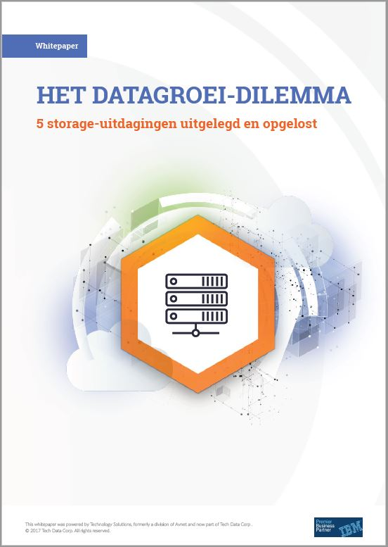 Het datagroei dilemma: 5 storage-uitdagingen uitgelegd en opgelost