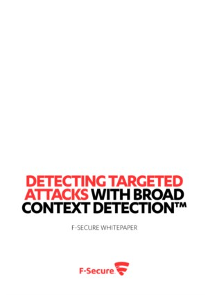 Detecting targeted attacks with broad context detection