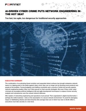 Het gevaar van AI gestuurde cybercrime voor uw netwerk