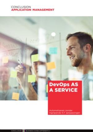 DevOps as a service: automatiseren zonder ingrijpende ICT aanpassingen