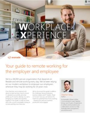 Gids voor het flexibel en op afstand werken