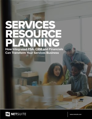 De voordelen van Services Resource Planning (SRP)