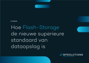Flash-Storage, de nieuwe superieure standaard van dataopslag