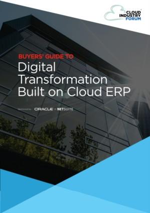 De rol van Cloud ERP bij een succesvolle digitale transformatie