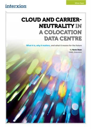 Cloud en carrier neutrale datacenters