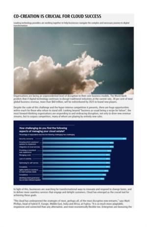 Co-creatie is essentieel voor een succesvolle cloud strategie