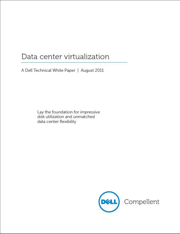 Server & Storage Virtualisatie combineren voor ongeëvenaarde Datacenter flexibiliteit