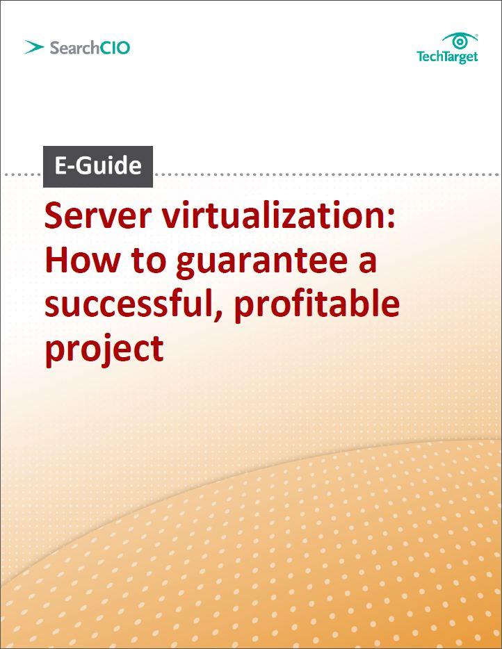 Server virtualisatie: Hoe realiseer je een succesvol en winstgevend project?