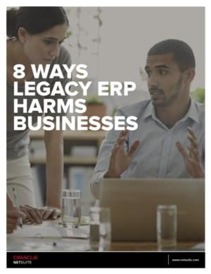 Ebook: 8 manieren waarop oude ERP software uw bedrijf kan schaden