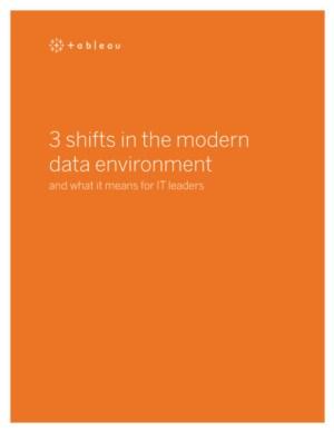 3 verschuivingen in de moderne data omgeving en wat het betekent voor IT leiders