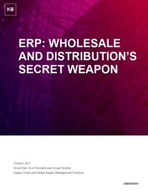ERP: het geheime wapen van groothandels en distributeurs