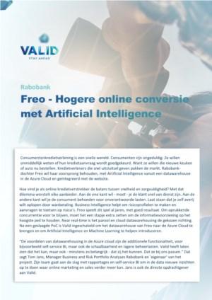 Hoe AI u kan helpen aan een hogere online conversie