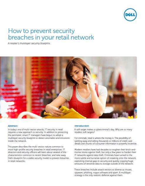 Hoe voorkomen retailers security breaches in hun netwerk?