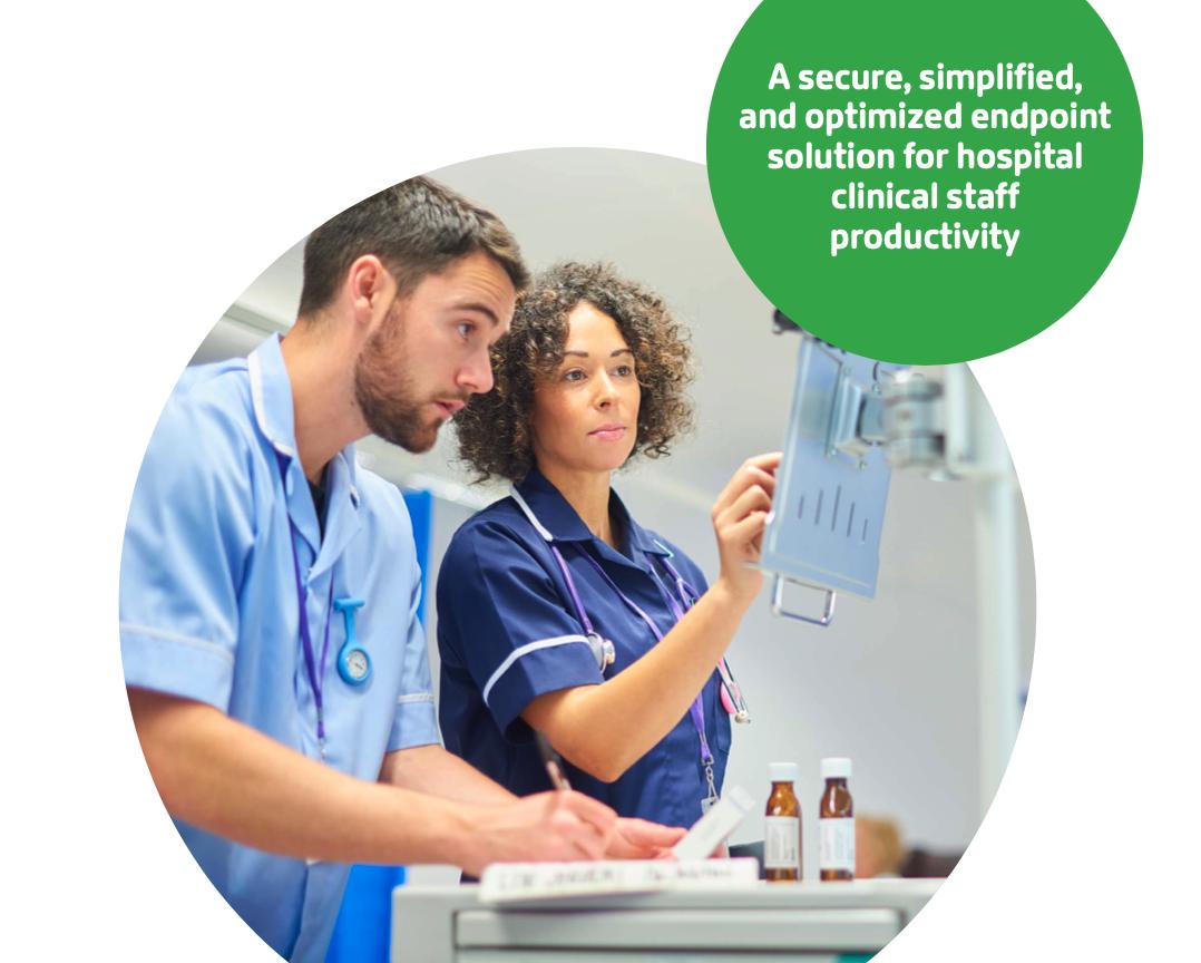Wanneer patiëntenzorg de missie is, moeten technologie en beveiliging zo onzichtbaar mogelijk zijn.