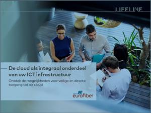 De cloud als integraal onderdeel van uw ICT infrastructuur