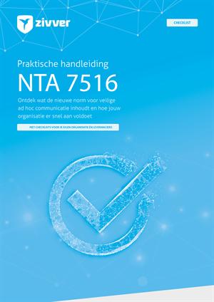 Gaat u veilig om met het delen van gezondheidsinformatie? Doe de NTA 7516 check!