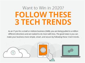 Wil je winnen in 2020? Volg deze 3 technologische trends!