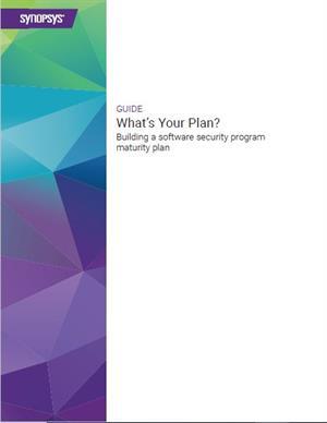 Building a software security program maturity plan