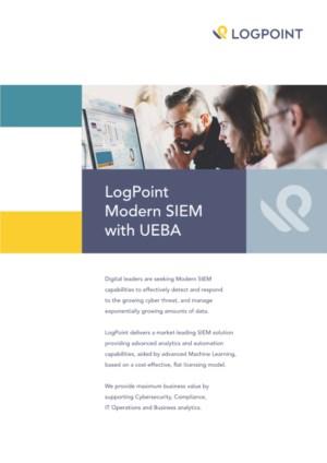 LogPoint Modern SIEM with UEBA