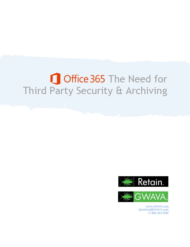 Office 365: de uitdagingen en oplossingen voor archivering en compliance
