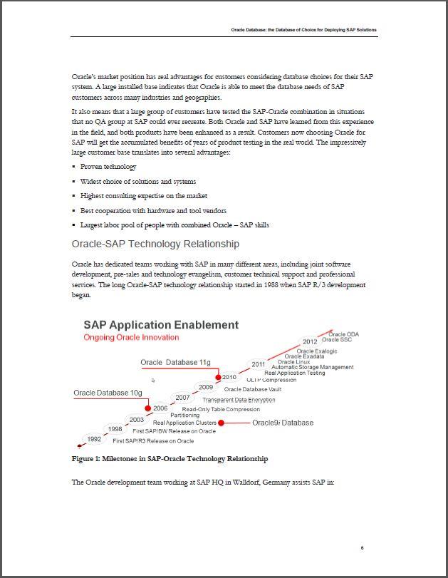 Dé database voor het implementeren van SAP-oplossingen