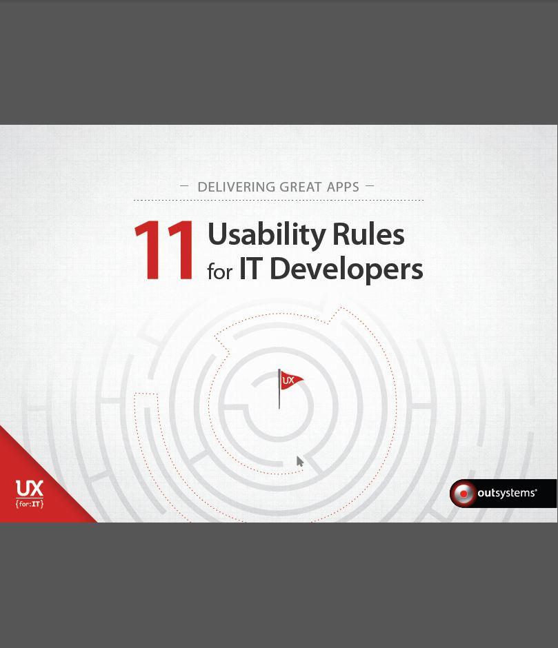 De zoektocht naar de perfecte applicatie: 11 usability regels voor IT-developers
