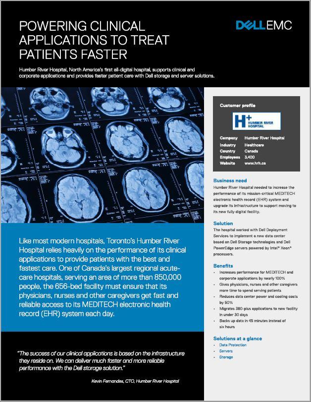 Snellere behandeling van patiënten dankzij een nieuw datacenter