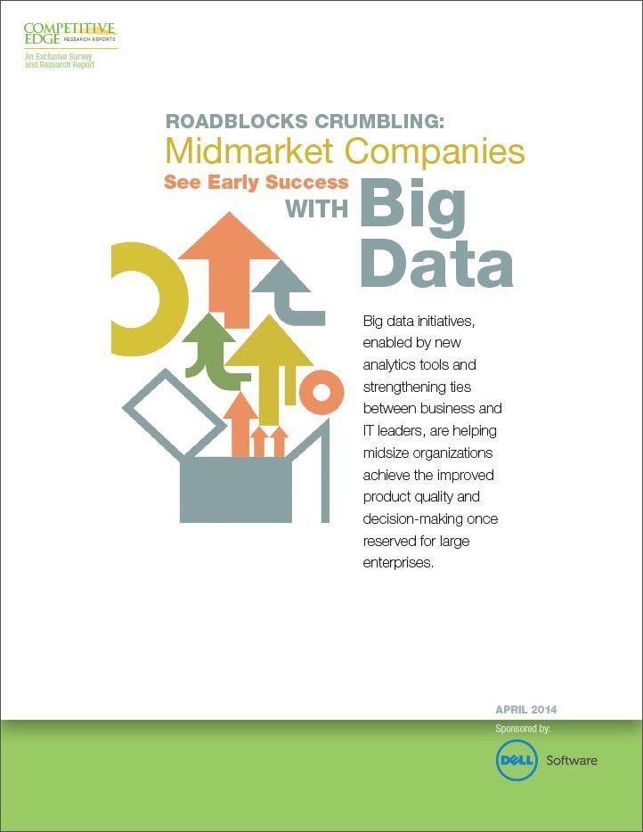 Het succes van Big Data oplossingen bij midmarket organisaties