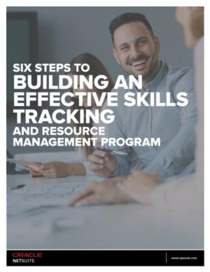 Zes stappen voor effectieve Skills Tracking en Resource Management programma's