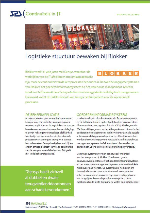 Business Service Management bij Blokker: Proactief en voorspellend beheer van cruciale systemen