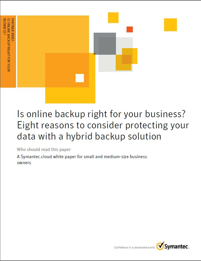 Checklist: Waarom past cloud-based back-up bij u?