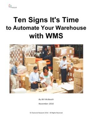 Tien (nood)signalen om uw magazijn te automatiseren met WMS