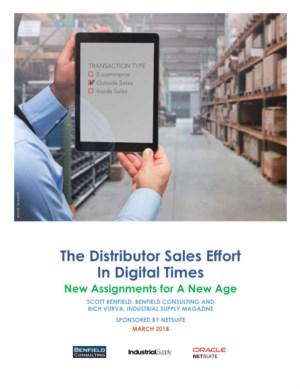 De verkoopinspanningen van distributeurs in digitale tijden