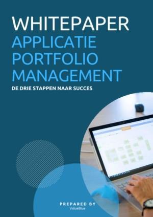 Effectief Applicatie Portfolio Management, een belangrijke voorwaarde voor digitale transformatie.