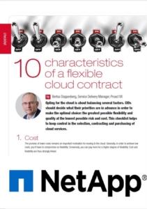 10 eigenschappen van een flexibel Cloud Contract
